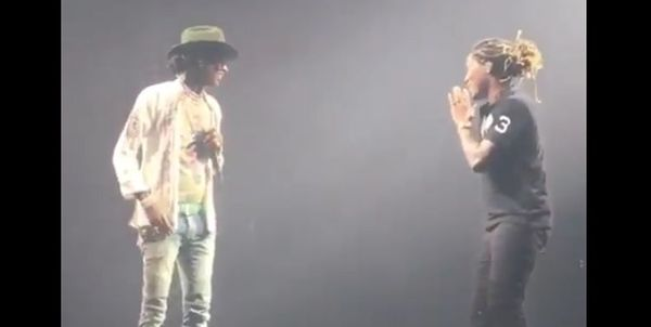 No Beef: Future Brings Out Young Thug [VIDEO]