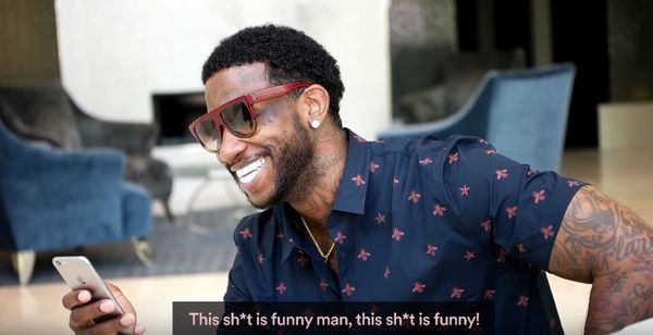 Gucci Mane Reads Tweets About Gucci Mane