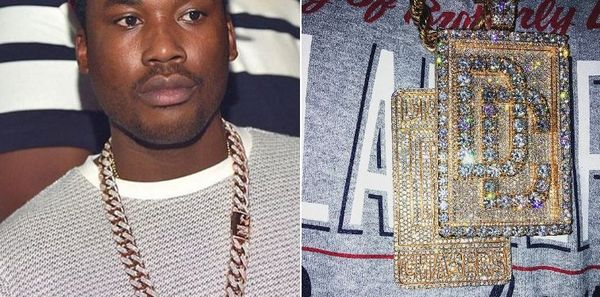 Meek Mill Just Dropped An Enormous Sum On A New Chain