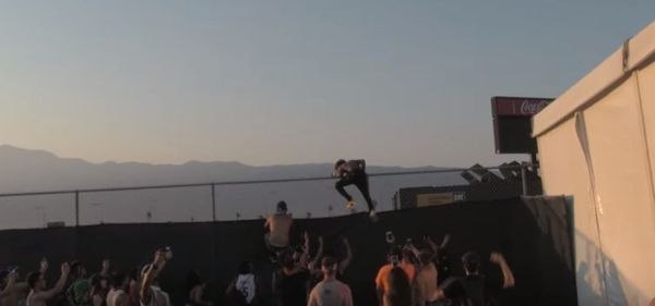 Lil Uzi Vert Has To Jump Fence To Escape Fans [VIDEO]