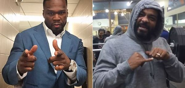 Jim Jones Clowns 50 Cent's Outfit