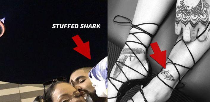Drake rihanna shark