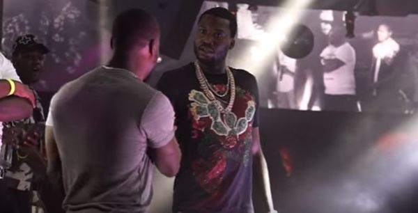 Meek Mill And Kevin 'Chocolate Droppa' Hart Rap Battle [VIDEO]