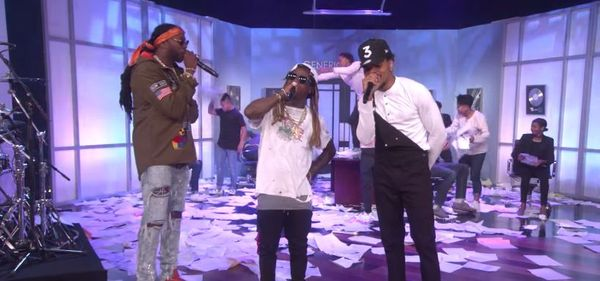 Lil Wayne Takes Shot At Cash Money (And Ryan Lochte) On Ellen [VIDEO]