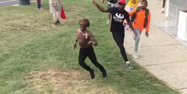 Lil Uzi Vert Jumps Fence Like A Hurdler To Escape 'Fans'