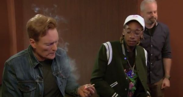 Conan Smokes Up And Plays Video Games With Wiz Khalifa