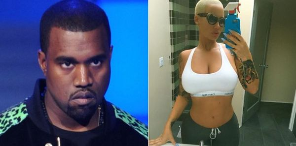 Amber Rose Claims Kanye West Won't Stop Bullying Her