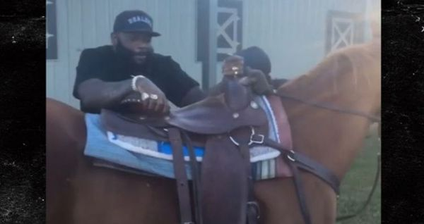 Rick Ross Rode A Horse & Now Folks Want To Call PETA [VIDEO]