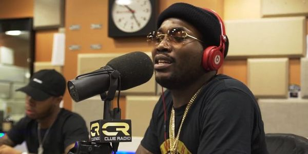 Meek Mill Drops Freestyle On DJ Clue's Show