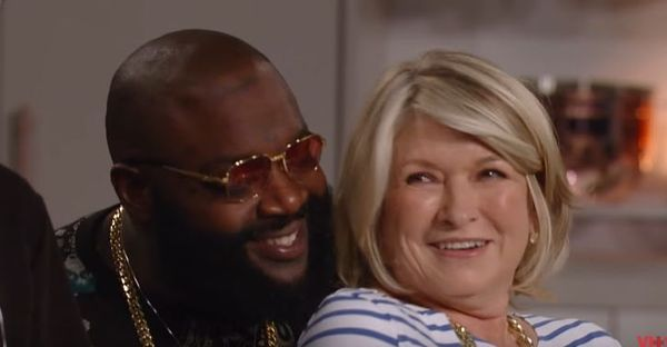 Rick Ross Makes A Play For Martha Stewart On 'Martha & Snoop�s Potluck Dinner Party'