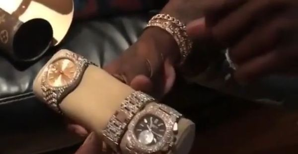 Young Thug Flexes Seven Figures Worth Of Watches