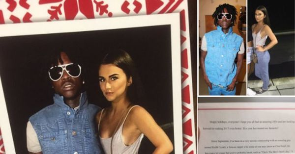 Brother Pranks 'Pregnant' Sister With Funny Chief Keef Christmas Card