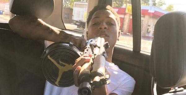 NBA YoungBoy Gets Girlfriend's Name Tatted On His Face
