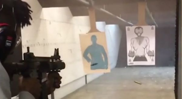 21 Savage Unloads At The Gun Range [VIDEO]