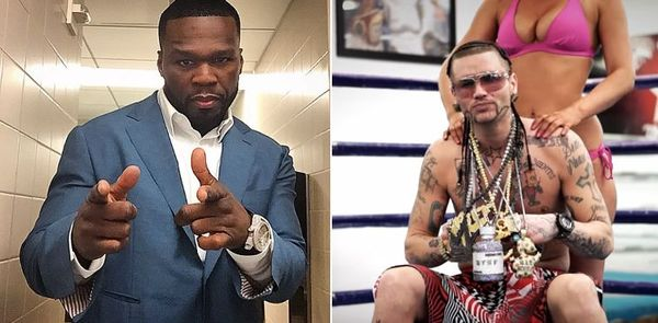 Riff Raff Challenges 50 Cent To Big Money Heavyweight Fight [VIDEO]
