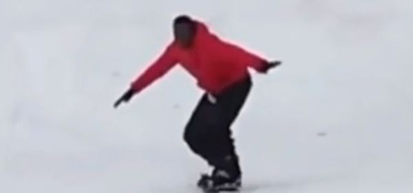 Boosie Badazz Learns How To Snowboard [VIDEO]