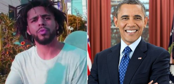 The Obamas Cranked Up J. Cole Track At Final White House Party