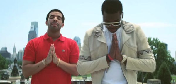 Meek's Been Partying To Drake Tracks [VIDEO]