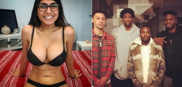 Joel Embiid Ethers Mia Khalifa After She Comes For Him & Meek Mill