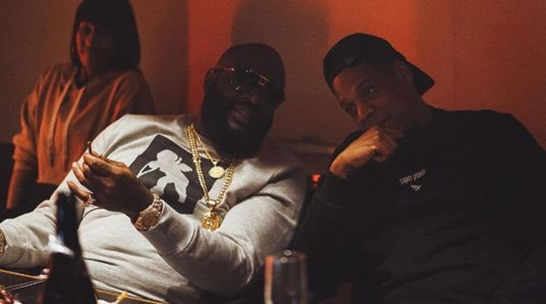 Jay Z & Rick Ross Have Something Cooking