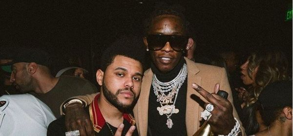 Young Thug And The Weeknd Have Something Cooking