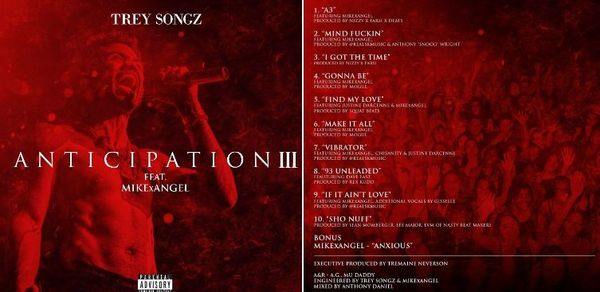 Check Out Trey Songz 'Anticipation 3' Mixtape