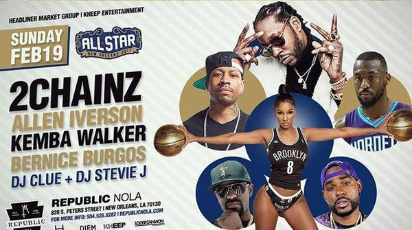 Check Out What 2 Chainz & Allen Iverson Have In Their All Star Weekend Riders