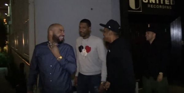 Jay Z Leaves The Studio With Young Guru, New Album Coming?