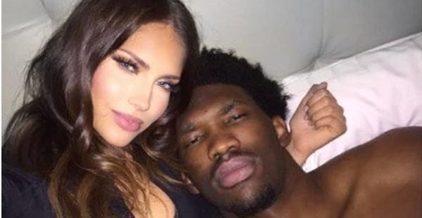 Joel Embiid Stays Savage When Dealing With 'WAGS' Star Olivia Pierson [PHOTOS]