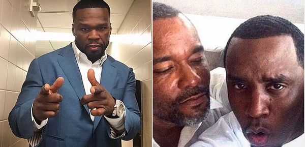 50 Cent Implies Diddy Is Gay With Suspect Lee Daniels Pic