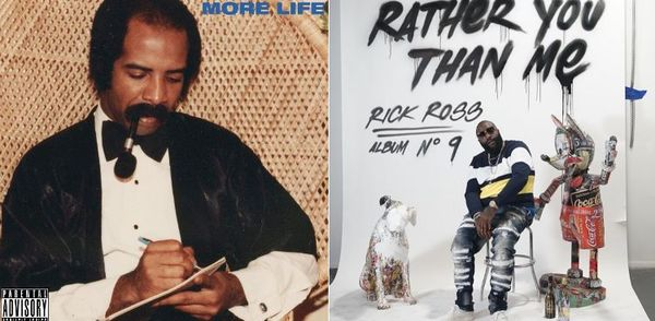 Check The Final First Week #'s For Drake And Rick Ross