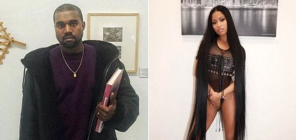 Kanye Sent Nicki MInaj a Bunch Of Baby Yeezys for Her Boy