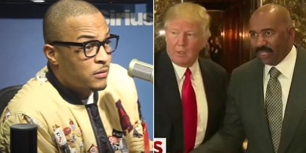 T.I., Responds To Steve Harvey After Being Called Out For Donald Trump Diss
