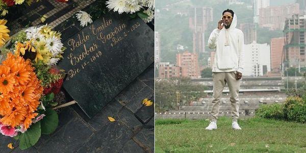 Wiz Khalifa Put Flowers On Pablo Escobar's Grave; Outrages Medellin Mayor