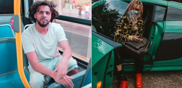 Lil Pump Says He's Now on Good Terms with J. Cole