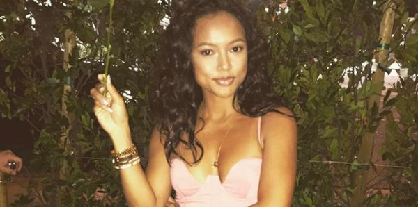 Karrueche Tran Wears See Thru Pants [PHOTOS & VIDEO]