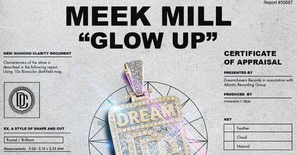 Meek Mill Drops New Single 'Glow Up'