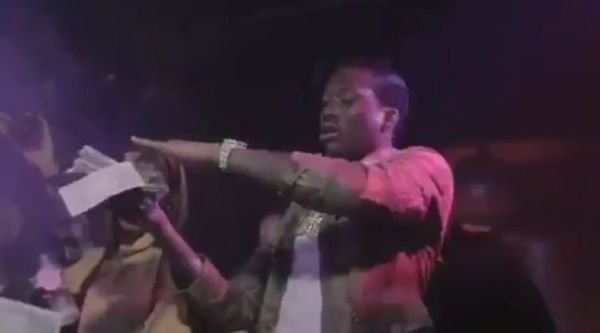 Meek Mill & T.I. Make It Rain Hard In Strip Club [VIDEO]