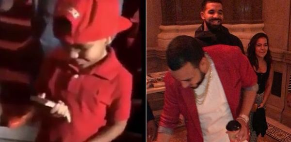 Drake Gave Chinx's Young Son A Nice Cash Present For His Birthday