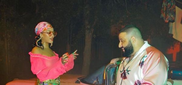 Rihanna Keeps The Curves In New Photos With DJ Khaled
