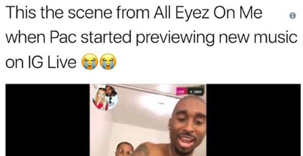 'All Eyez On Me' Gets Roasted Because Of Alleged iPhone Appearance