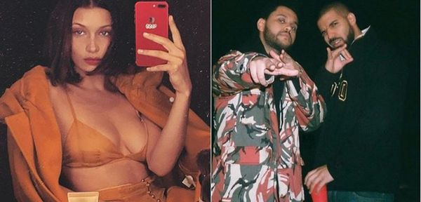Report: Drake Is Gunning For The Weeknd's Ex