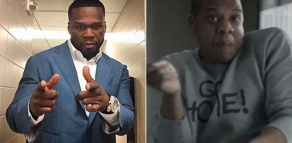 50 Cent Won't Let Up On Water Sports JAY-Z