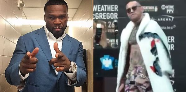 50 Cent Says He'll Have No Problem Beating up Conor McGregor