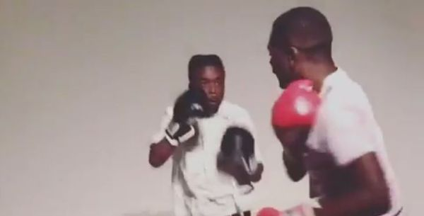 Watch Lil Uzi Vert Boxing Against His Friend [VIDEO]