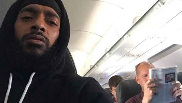 Nipsey Hussle Confronts Airline Passenger Over Music