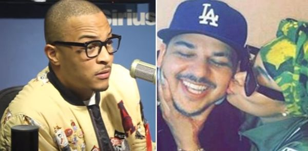 T.I. Hits At Rob Kardashian For Revealing He Was In Blac Chyna Threesome