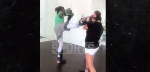 Wiz Khalifa's Training For MMA [VIDEO]