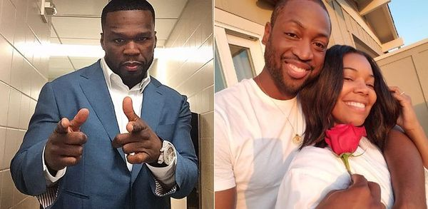 50 Cent Comes At Gabrielle Union And Brings Dwayne Wade Into It
