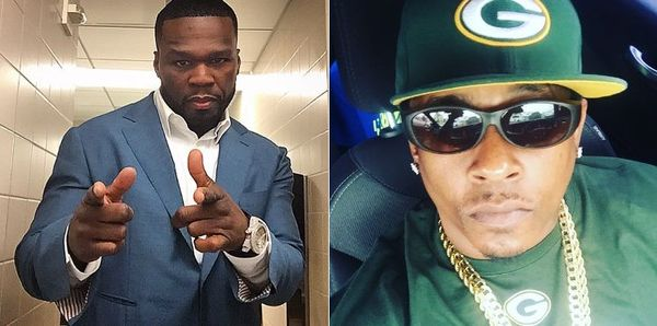 Spider Loc & 50 Cent Fight Over 50's Hating Ways